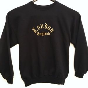 Other - London England Tri-Blend CrewNeck Sweatshirt XL